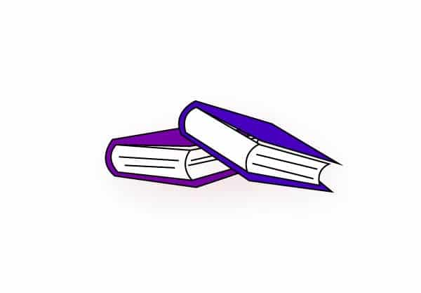 blue book clipart, red book clipart