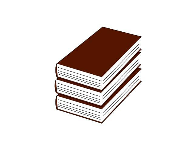 library book clipart, library book icon