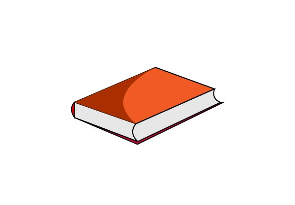 old book clipart, old book icon