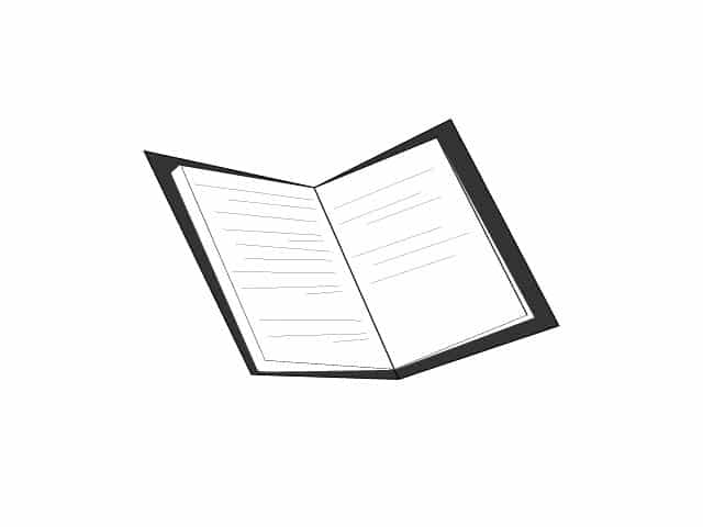 opened book clipart black and white, black and white book icon