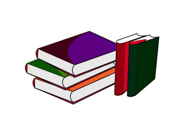 reading book clipart.