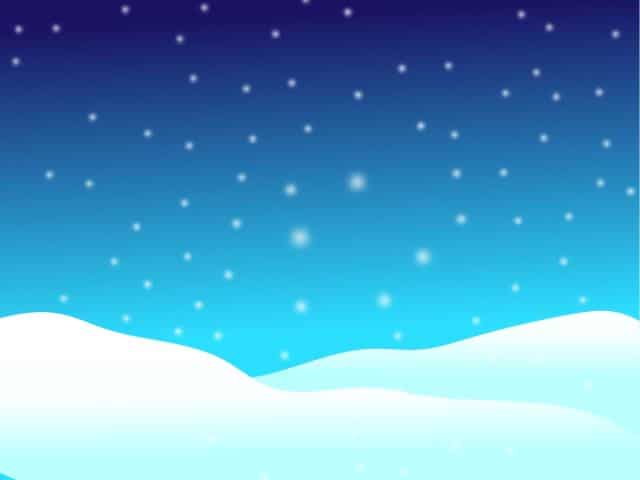 simple winter clipart
