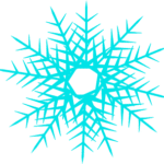 snowflake clipart simple 2