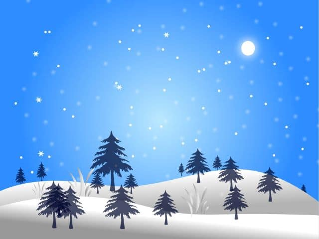 winter clipart simple