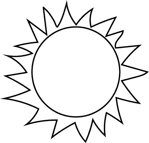 sun clipart black and white Download Free | clipart, vector