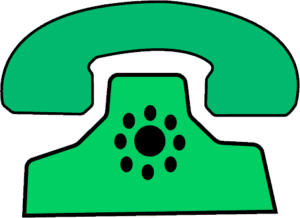 old phone clipart