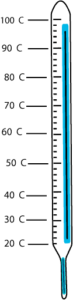 cold thermometer clipart