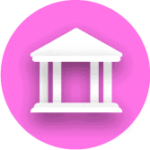 flat bank icon download now