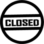 closed icon download now