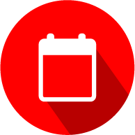 red calender icon