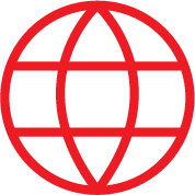 red internet icon