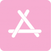 pink app store icon aesthetic