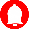red bell icon png