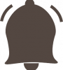 black bell icon