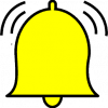yellow bell icon