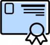 icon certificate png