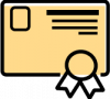 icon for certificate