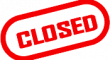 red closed icon