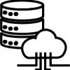 cloud database icon png