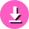 download icon pink