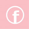 facebook icon aesthetic pink