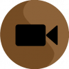 facetime icon aesthetic brown