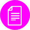 pink file icon png