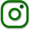 instagram outline png icon green