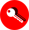 red key icons
