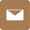 mail aesthetic icon brown