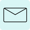 mail icon aesthetic black green