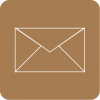 mail icon aesthetic brown