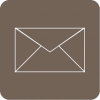 mail icon aesthetic beige