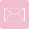 aesthetic mail icon pink