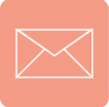 aesthetic mail icon red