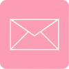 pink mail icon aesthetic