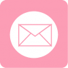 mail icon aesthetic pink
