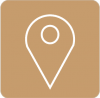 maps icon aesthetic brown
