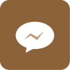 messenger icon aesthetic brown