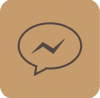 brown aesthetic messenger icon