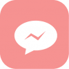 pink aesthetic messenger icon