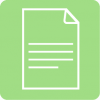 notes icon aesthetic green