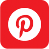 pinterest icon red