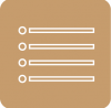 brown reminders icon aesthetic