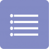 blue reminders aesthetic icon