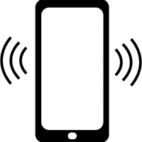 ringing cell phone clipart