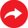red share icon vector
