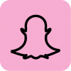 pink snapchat icon aesthetic