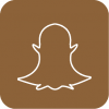 brown Snapchat icon aesthetic