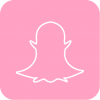 snapchat icon aesthetic pink